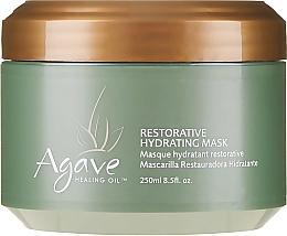 Kup Regenerująca maska nawilżająca do włosów z olejem z agawy - Agave Healing Oil Restorative Hydrating Mask