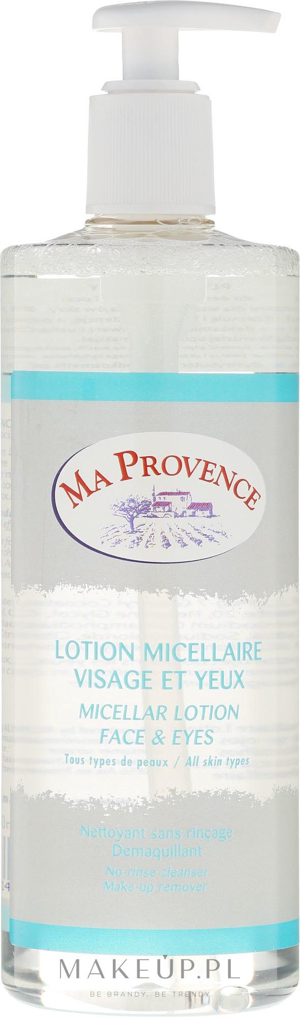 Płyn micelarny do demakijażu twarzy i oczu - Ma Provence Micellar Lotion Face & Eyes — фото 500 ml
