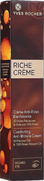 PRZECENA! Rewitalizujący krem przeciwzmarszczkowy pod oczy - Yves Rocher Riche Creme Anti-Wrinkle Eye Cream* — фото N2