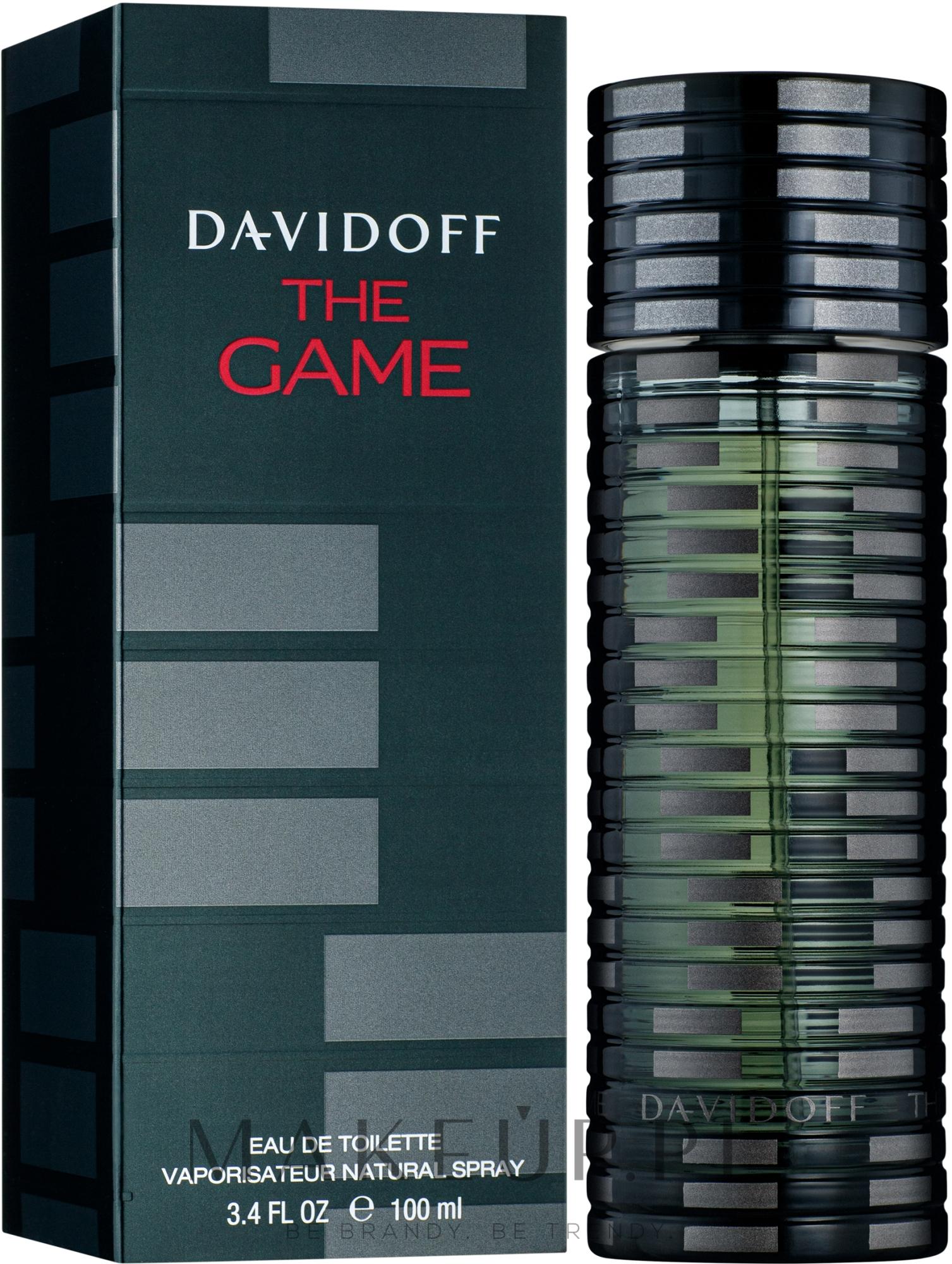 Davidoff The Game - Woda toaletowa — фото 100 ml