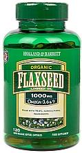 Kup Olej lniany - Holland & Barrett Flaxseed Oil Organic 1000mg