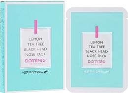 Kup PRZECENA! Paski oczyszczające pory nosa - Borntree Lemon Tea Tree Black Head Nose Pack *