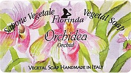 Kup Mydło naturalne w kostce Orchidea - Florinda Sapone Vegetale Vegetal Soap Orchid