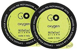 Kup Wkład zapachowy do samochodu Oxygen, 2 szt. - Millefiori Milano Go Oxygen Capsules