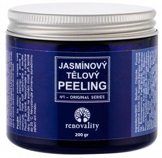 Drobnoziarnisty jaśminowy peeling solny do ciała - Renovality Original Series Jasmine Body Peeling  — фото N1
