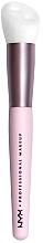 Kup Pędzel do makijażu - NYX Professional Makeup Bare With Me Shroombiotic Serum Brush