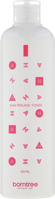 Nawilżający tonik do twarzy z kwasami AHA - Borntree AHA Feeling Toner — фото N2