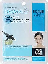 Kup Kolagenowa esencjonalna maseczka w płachcie do twarzy Ekstrakt z jaskółczych gniazd - Dermal Bird's Nest Collagen Essence Mask