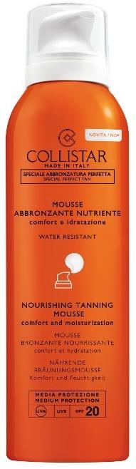 Odżywczy mus do opalania ciała SPF 20 - Collistar Nourishing Tanning Mousse — фото N1