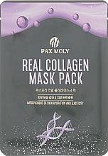 Kup Nawilżająca maseczka kolagenowa w płachcie do twarzy - Pax Moly Real Collagen Mask Pack