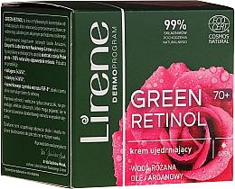 Kup Ujędrniający krem do twarzy na dzień 70+ - Lirene Green Retinol Firming Day Cream