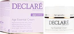 Kup Przeciwzmarszczkowy krem do twarzy na bazie wyciągu z piwonii - Declaré Age Control Age Essential Cream