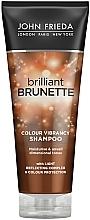 Kup Nawilżający szampon ochronny do włosów brązowych - John Frieda Brilliant Brunette Colour Protecting