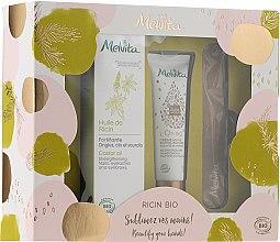 Kup Zestaw do pielęgnacji dłoni i paznokci - Melvita Beauty For Your Hands Set (h/cr 30 ml + e/f/oil 50 ml + nail/file)