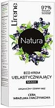 Kup Ekokrem uelastyczniający na noc do cery wrażliwej i naczynkowej Organiczny czarny bez - Lirene Natura Eco Cream