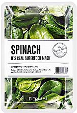 Kup Maseczka do twarzy z wyciągiem ze szpinaku - Dermal It'S Real Superfood Mask Spinach