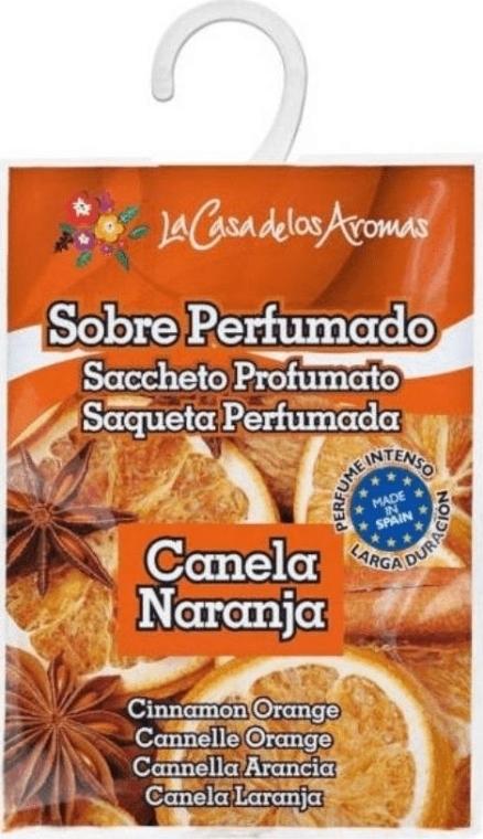Saszetka zapachowa Pomarańcza i cynamon - La Casa de Los Aromas Scented Sachet — фото N1