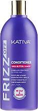 Nawilżająca odżywka do włosów puszących się - Kativa Frizz Off Karité Conditioner — фото N1