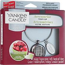 Kup Zapach do samochodu - Yankee Candle Charming Scents Black Cherry Linear
