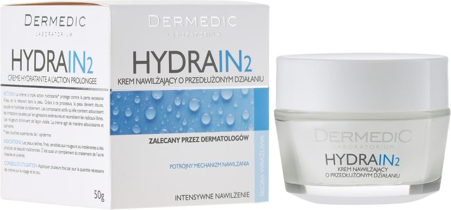 Nawilżający krem o przedłużonym działaniu - Dermedic Hydrain2