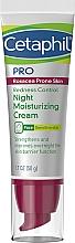 Kup Nawilżający krem do twarzy na noc redukujący zaczerwienienia - Cetaphil Redness Control Night Moisturizing Cream