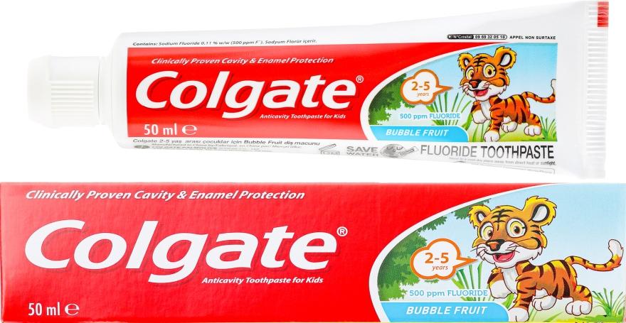 Pasta do zębów dla dzieci 2–5 lat - Colgate Toddler Bubble Fruit Anticavity