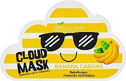 Bąbelkująca maseczka nawilżająca do twarzy Banana Cabana - Bielenda Cloud Mask — фото N1
