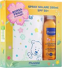 Kup Zestaw - Mustela Bebe Solare (sun/spray/200ml + bag)