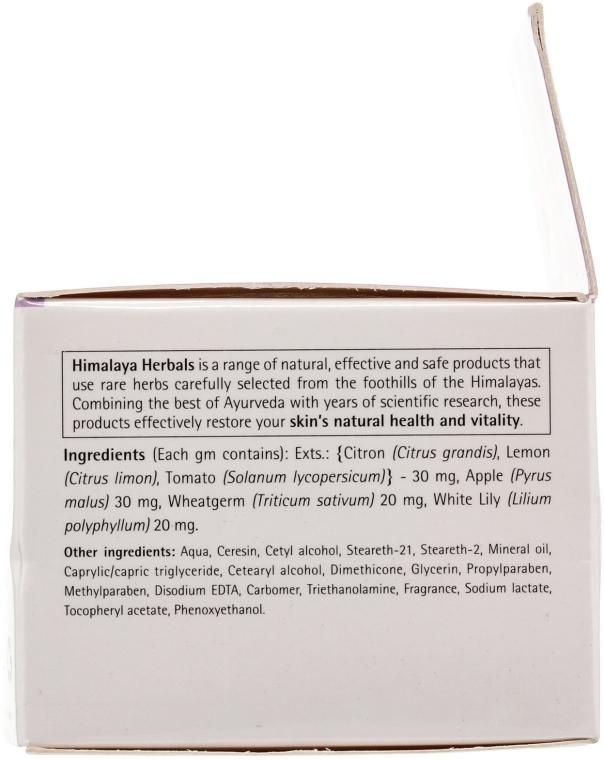 Rewitalizujący krem do twarzy na noc Biała lilia i pomidor - Himalaya Herbals Revitalizing Night Cream — фото N4