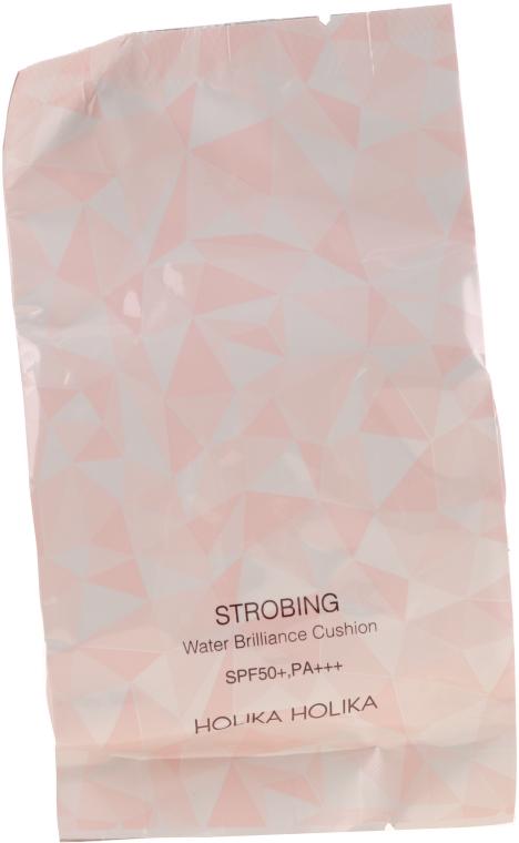 Rozświetlacz do konturowania twarzy w gąbce cushion - Holika Holika Strobing Water Brilliance Cushion — фото N3