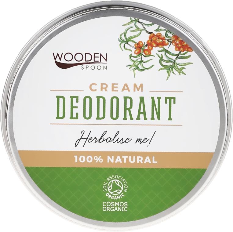Naturalny dezodorant w kremie - Wooden Spoon Herbalise Me Cream Deodorant — фото N1