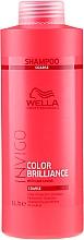 Szampon chroniący kolor farbowanych włosów grubych - Wella Professionals Invigo Color Brilliance Coarse Shampoo  — фото N5