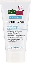 Delikatny peeling do twarzy - Sebamed Clear Face Gentle Scrub — фото N2