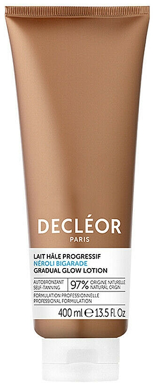 Samoopalające mleczko do ciała - Decléor Neroli Bigarade Gradual Glow Self Tanning Lotion — фото N2