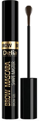 Tusz do brwi - Delia Shape Master Brow Mascara — фото N1