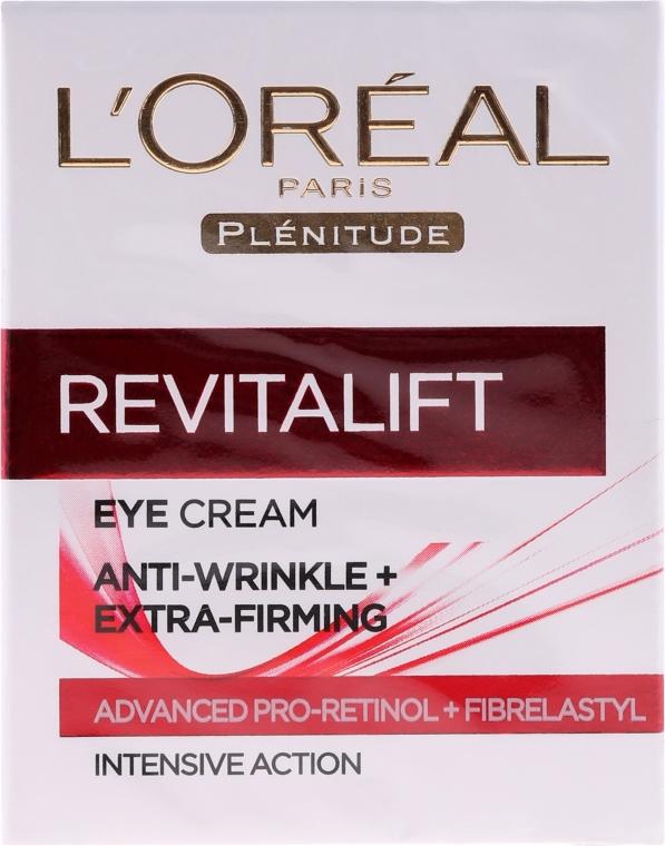 Przeciwzmarszczkowy krem pod oczy - L'Oreal Paris Revitalift Eye Cream