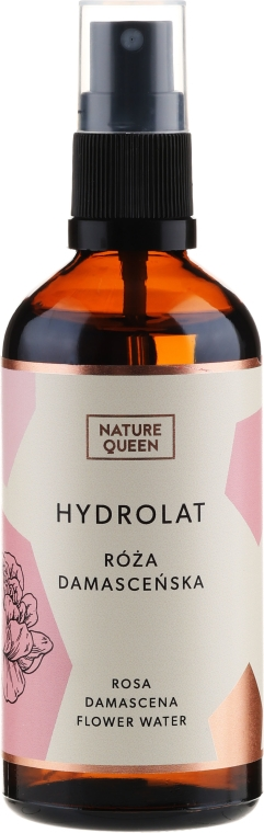 Hydrolat z róży damasceńskiej - Nature Queen