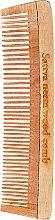 Kup Grzebień z drzewa neem do włosów, 19 cm - Sattva Neem Wood Comb