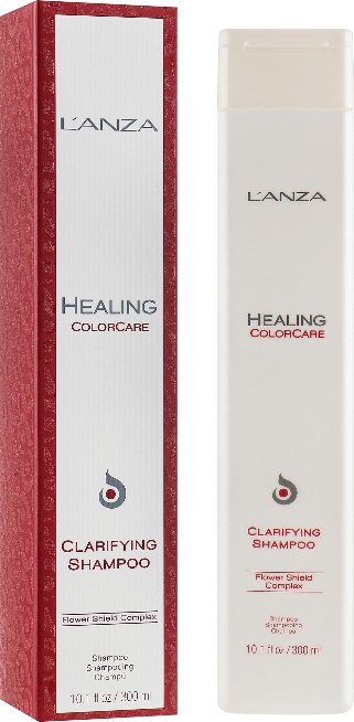 Szampon oczyszczający do włosów farbowanych - Lanza Healing ColorCare Clarifying Shampoo