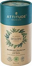 Kup Bezzapachowy dezodorant w sztyfcie Zielona herbata - Attitude Super Leaves Deodorant Fragrance Free