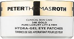 Kup Hydrożelowe płatki pod oczy - Peter Thomas Roth 24k Gold Pure Luxury Lift & Firm Hydra-Gel Eye Patches