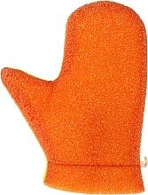 Kup Rękawica do masażu, 6021, pomarańczowo-żółta - Donegal Aqua Massage Glove