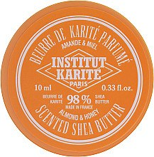 Kup Perfumowane masło shea 98% Migdał i miód - Institut Karité Almond And Honey Scented Shea Butter