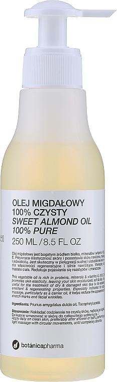 Czysty olej migdałowy - Botanicapharma Oil 100%
