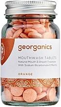 Kup Naturalne tabletki do płukania jamy ustnej Pomarańcza - Georganics Mouthwash Tablets Orange