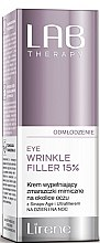 Kup Krem wypełniający zmarszczki mimiczne na okolice oczu - Lirene Lab Therapy Anti Ageing Eye Cream Eye Wrinkle Filler 15%