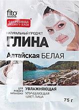 Kup Nawilżająca biała glinka ałtajska do twarzy i ciała - FitoKosmetik