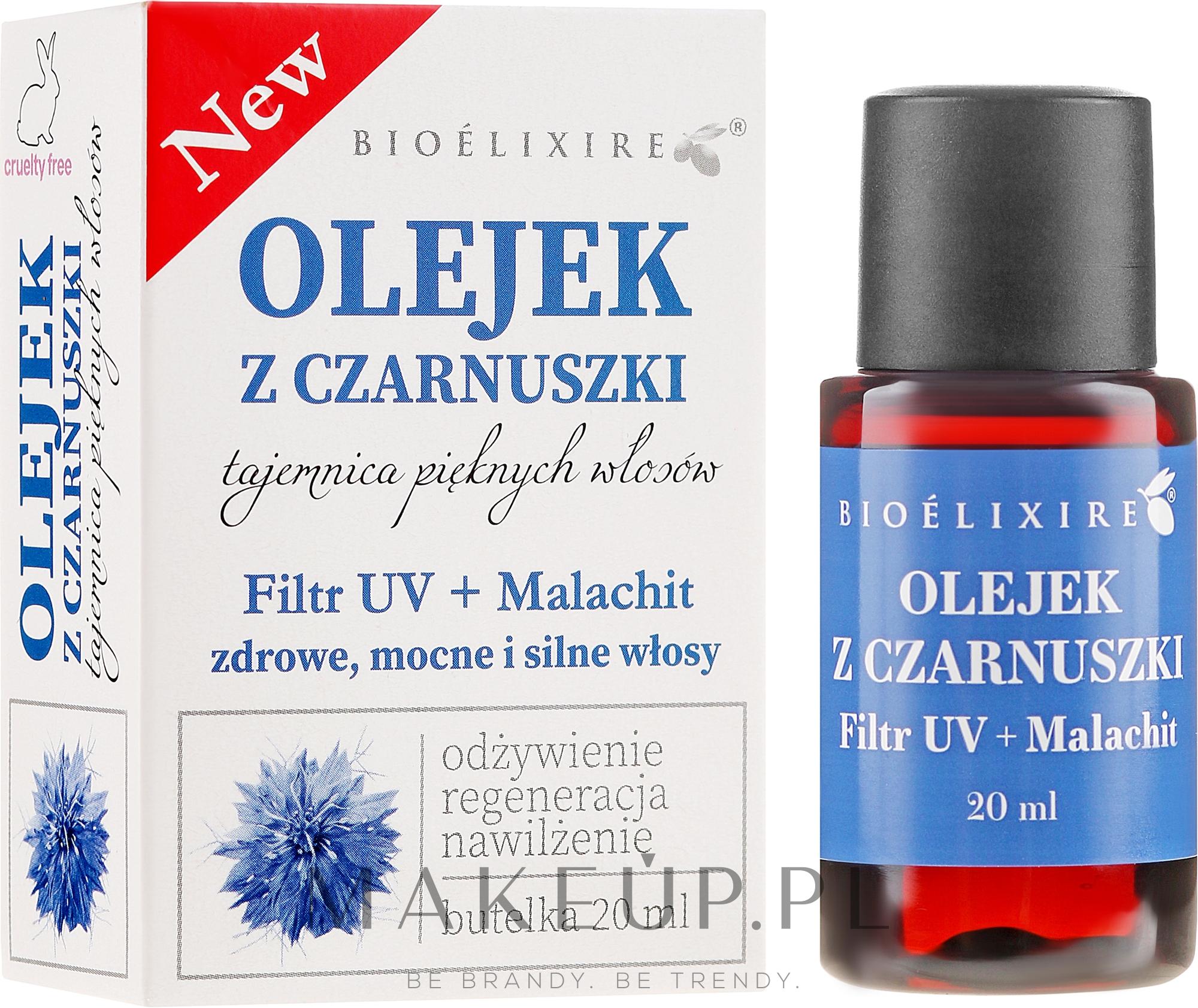 Olej z czarnuszki do włosów - Bioelixire Black Seed Oil  — фото 20 ml