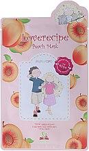 Kup Nawilżająco-wygładzająca celulozowa maska w płachcie do twarzy z wyciągiem z brzoskwini - Sally's Box Loverecipe Peach Mask