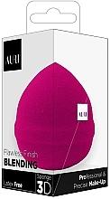 Kup Różowa gąbka do makijażu - Auri Flawless Finish Blending Sponge 3D